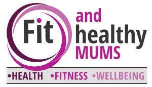 Fit and healthy mums logo