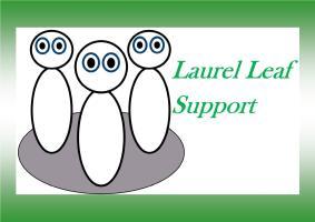 Laurel Leaf Support logo