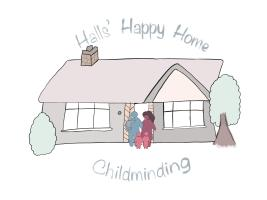 Halls Happy Home Childminding logo