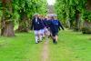 Children in School gardens
