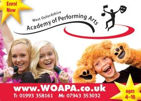 Performing arts oxfordshire