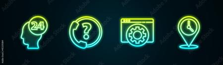 icons for falls contacts