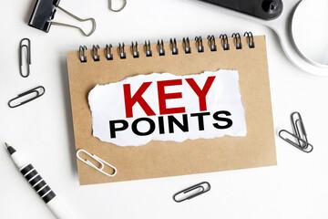key points illustration