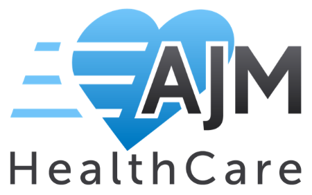 logo for AJM healthcare