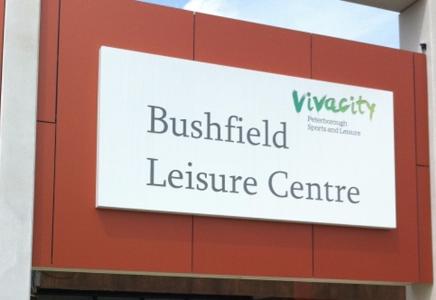 Bushfield Leisure Centre Logo