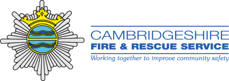 Cambs fire and rescue logo