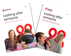 Carers UK brochures