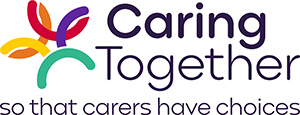 logo for caring together