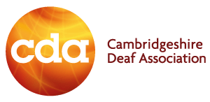 Logo for Cambridgeshire deaf association