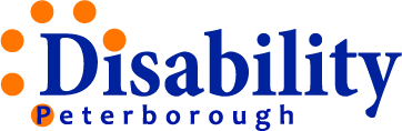 logo for disability Peterborough