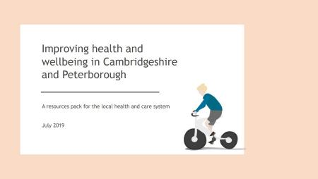 photo for the document Improving health and wellbeing in Cambridgeshire and Peterborough