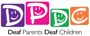 Deaf Parents, Deaf Children logo