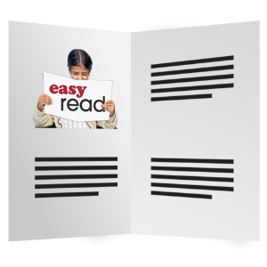 Easy Read booklet image