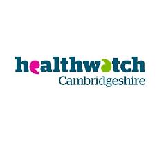 logo for health watch Cambridgeshire