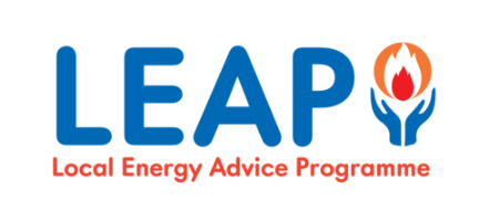 logo for Leap - the Local Energy Advice Partnership