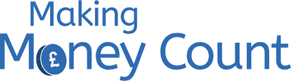 logo for making money count