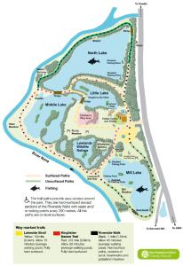 Map Barnwell Country Park