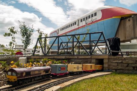 Rail World Garden