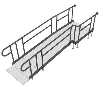 Rapid Ramp 3D CAD drawing