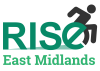 logo for Rise east Midlands