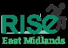 logo for Rise east Midlands