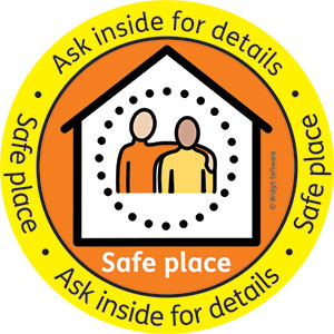 logo for the safe place scheme