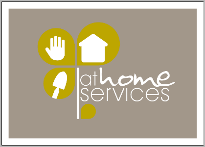 logo for at home services