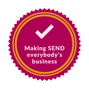 Badge to promote making send everybody's business