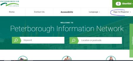 Sign in Register image