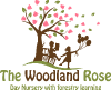 The Woodland Rose logo
