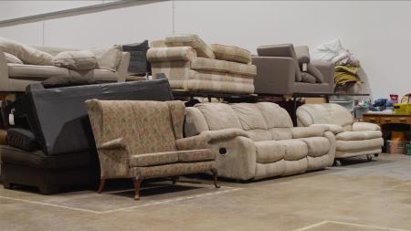 Furniture warehouse