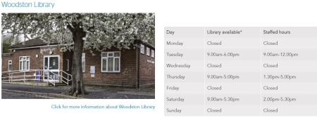 Woodston Library