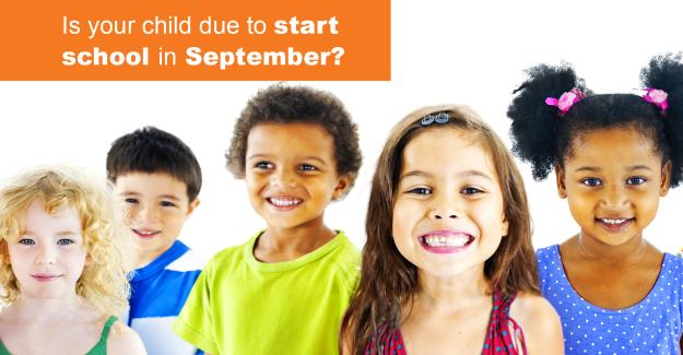 Is your child due to start school in September?