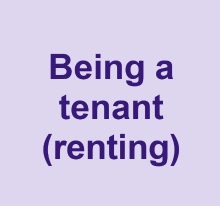 Being a tenant renting