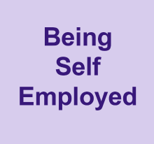 Being self employed