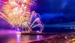 Bournemouth Friday Fireworks Picture.
