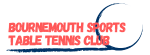 Bournemouth Sports Table Tennis Club Logo.