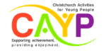 Christchurch Activities for Young People Logo.