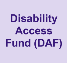 Disability Access Fund (DAF)