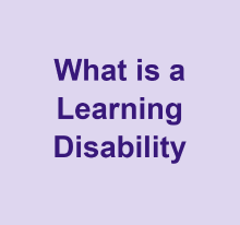What is a learning disability video