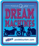 Poole Quay Dream Machines Logo.