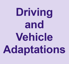Driving and Vehicle Adaptions