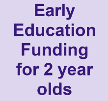 Early Education Funding for 2 Year Olds