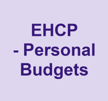 EHCP Personal budgets