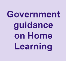 Government guidane on home learning