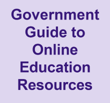 Government guide to online education resources