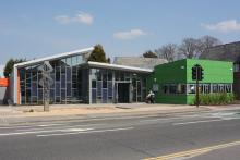 Hamworthy Library Picture.