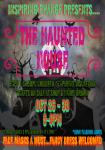 Haunted House Flyer.