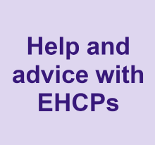 Help and advice with EHCPs