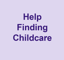 Help finding childcare